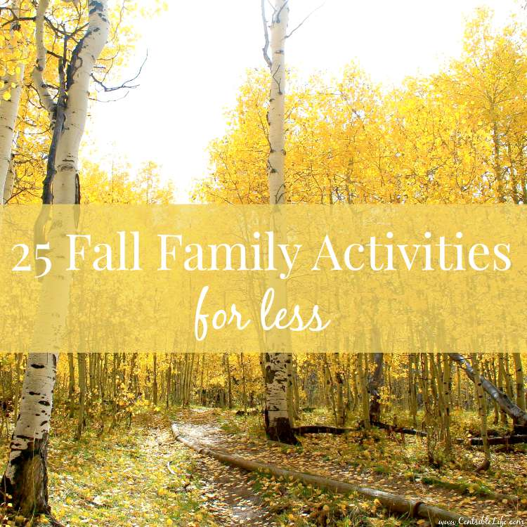 25 frugal fall family activities