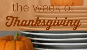 What To Eat The Week Of Thanksgiving