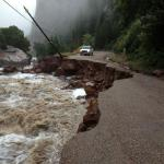 Much of Colorado isolated from flood, road closures