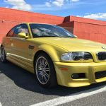 Sub 40k miles Phoenix Yellow E46 BMW M3 for sale