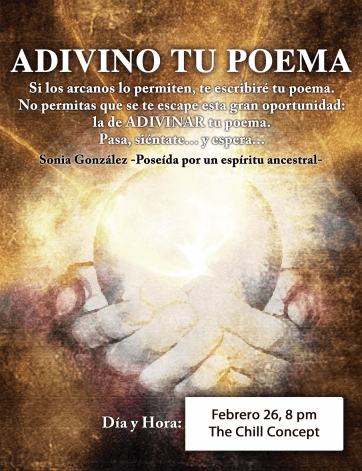 Performance: Una gitana adivinará tus poemas secretos