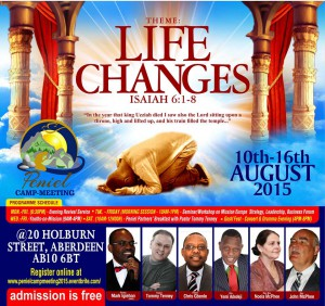 PENIEL 2015 ... Life Changes . PENIEL is our annual conference and camp meeting