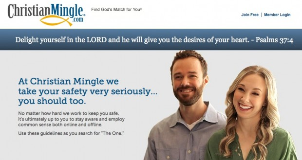 online dating sites christian mingle