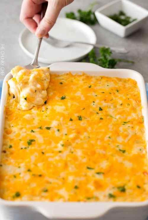 Medium Of Three Cheese Mac And Cheese