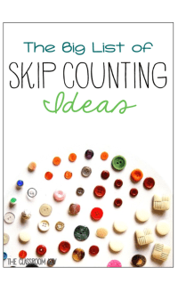 skip counting 3