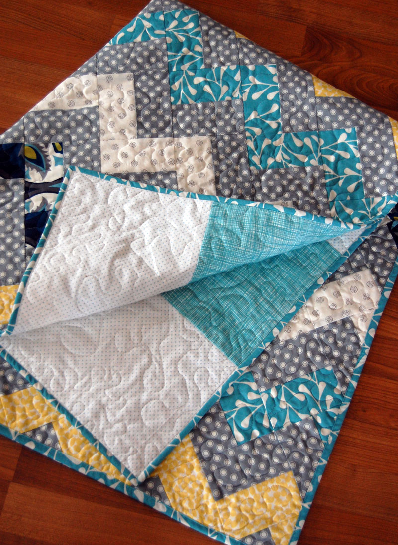 Make this zig zag chevron quilt for How to make a chevron template
