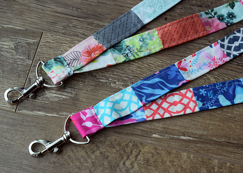 Patchwork Lanyard Tutorial