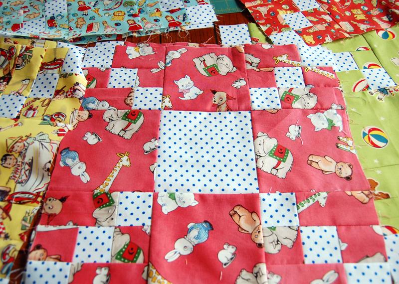 Inspiration: Little Playmates Quilt
