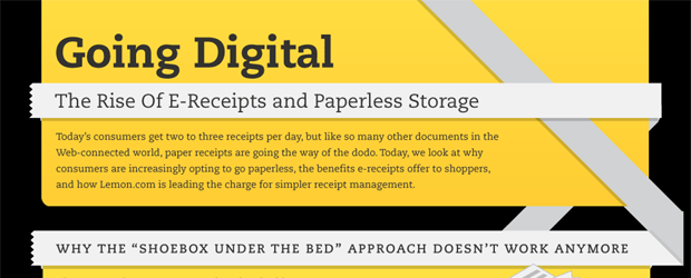 The Rise of E-Receipts and Paperless Storage