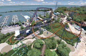 La montaña reinará el área de la marina. Foto: Cedar Point