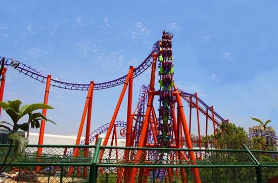 Wanda roller coaster