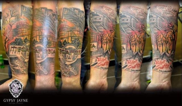 Tatuajes Megafobia Mark