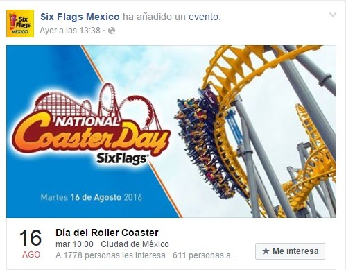 Tuit Six Flags México