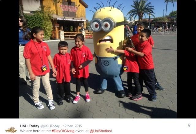 Universal Studios Minions