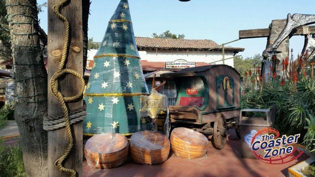 Esto es parte de la decoración de Pueblo Vaquero.