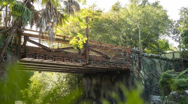 Este será el puente de entrada a Pandora. Foto: Walt Disney/David Roark