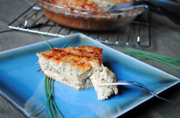 Kitchen Remodel and Zucchini Pie Recipe
