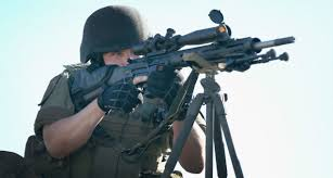 DHS controlled police taking aim on Americans.