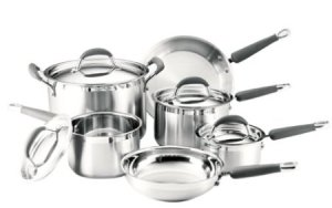 kitchenaid gourmet essentials stainless steel cookware