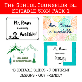 The School Counselor Is Main