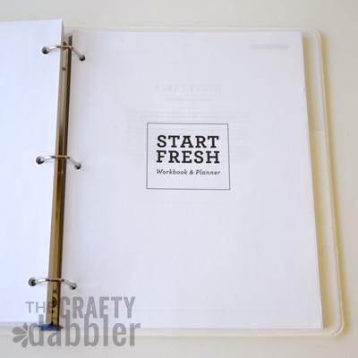 Start Fresh Workbook/Planner