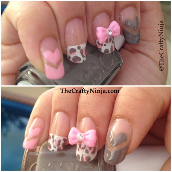 girly pretty nails