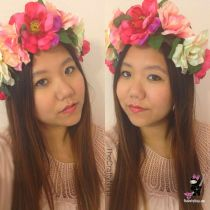 flower crown Blogger