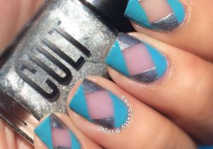 Abstract Negative Space Nails