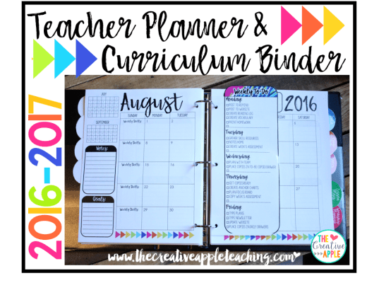 teacher planner blog