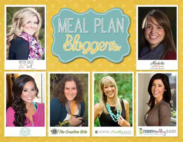 Healthy Weekly Meal Plan Bloggers