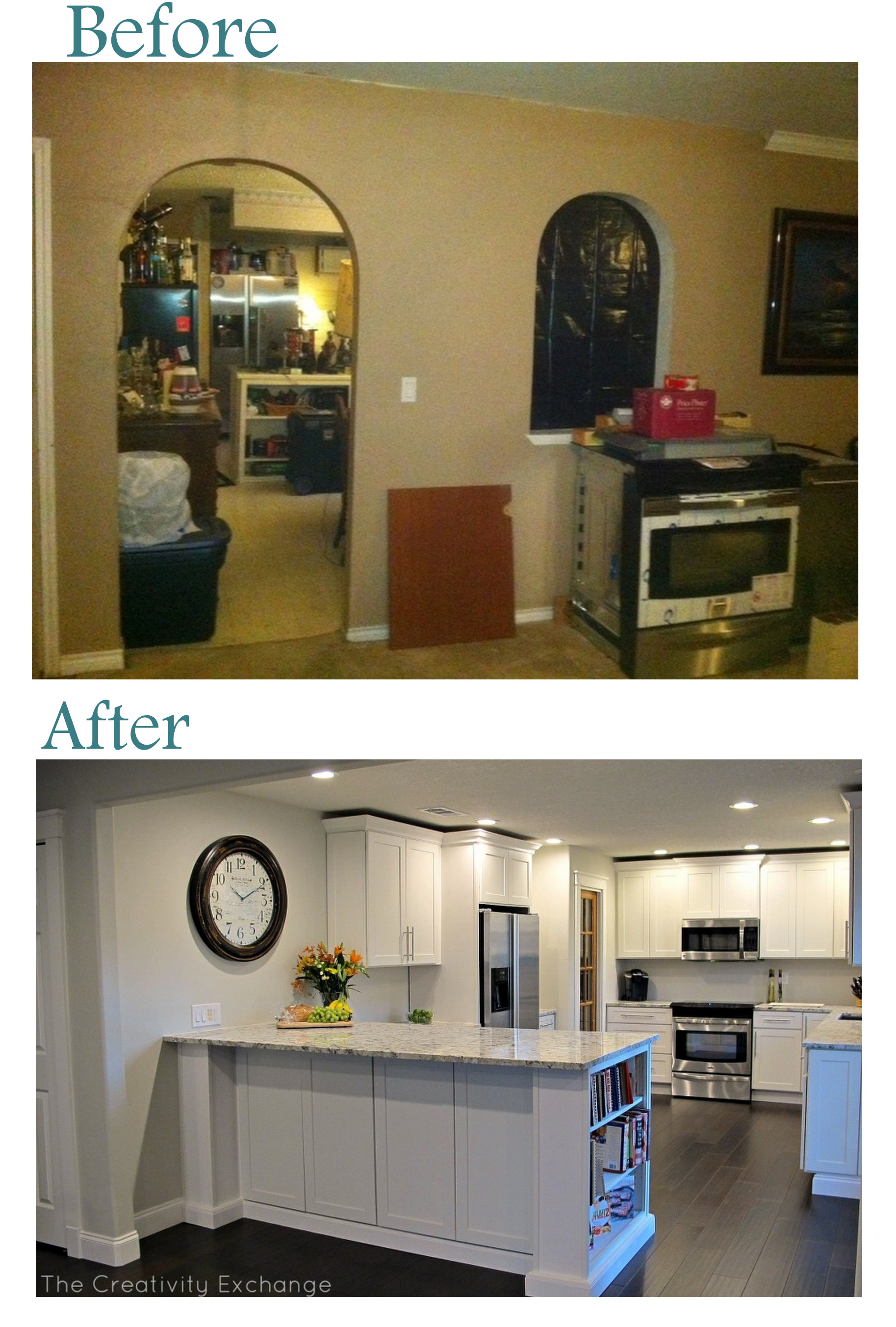 cousin franks amazing kitchen remodel before after diy kitchen remodel Amazing DIY kitchen remodel with specs and product info The Creativity Exchange