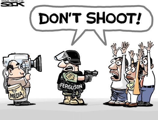 Steve Sacks, Star Tribune (Ferguson Police)