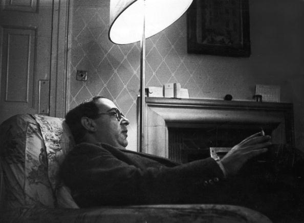 Latvian-born British philosopher, historian of ideas and Fellow of New College, Oxford, Isaiah Berlin (1909 - 1997), Oxford, 25th November 1950. Original publication: Picture Post - 5159 - Eternal Oxford - pub. 1950 (Photo by John Chillingworth/Picture Post/Hulton Archive/Getty Image)