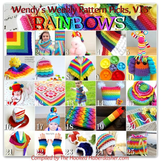 Wendys-Weekly-Pattern-Picks-Rainbows-The-Hooked-Haberdasher