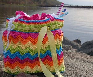 Chasing Chevrons Beach Bag