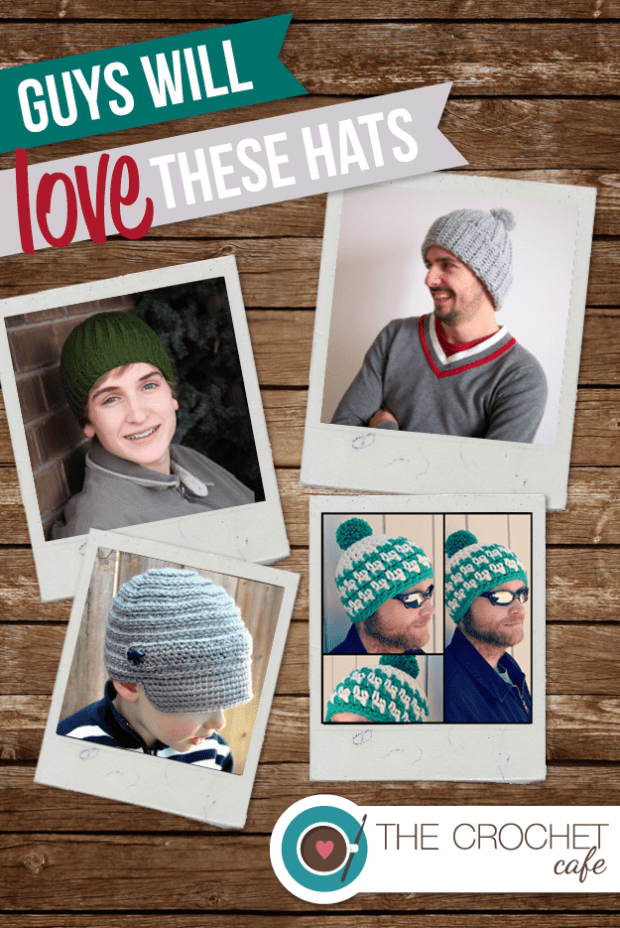 2) Guys will love these hats blog
