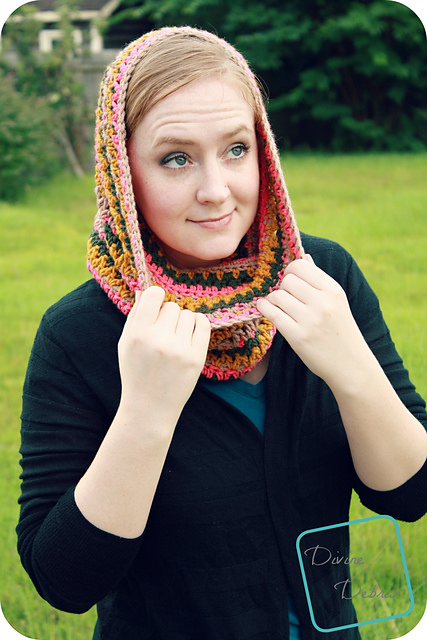 Avery Hooded Cowl by Divine Debris