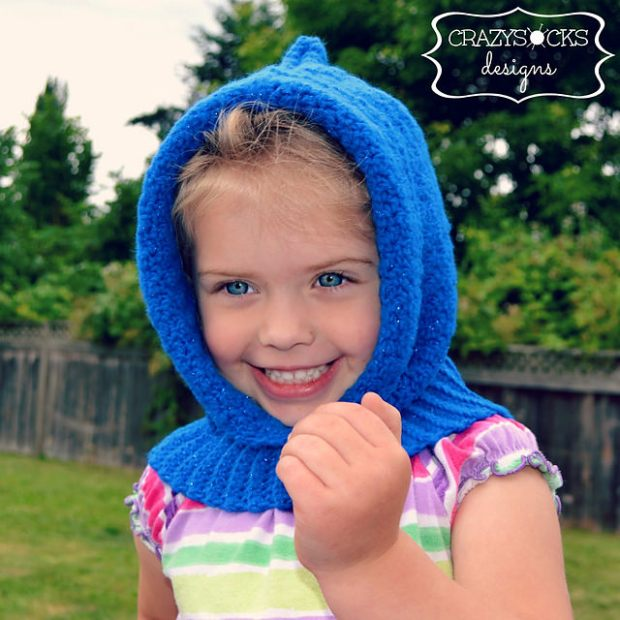 Bella Hooded Cowl by Danyel Pink Designs