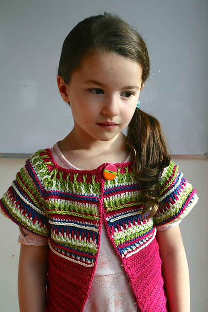 Boho Spring Bolero by Luz Patterns