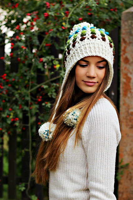 Dotty Hat by Crochetrend