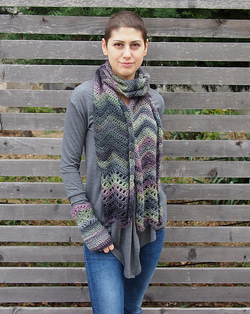 Everyday Chevron Scarf by Accessorise