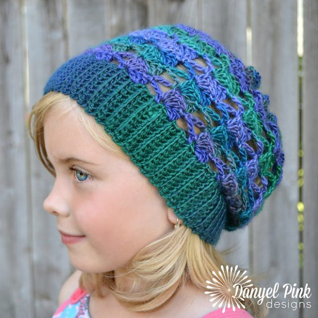 Kaleidoscope Slouch by Danyel Pink Designs