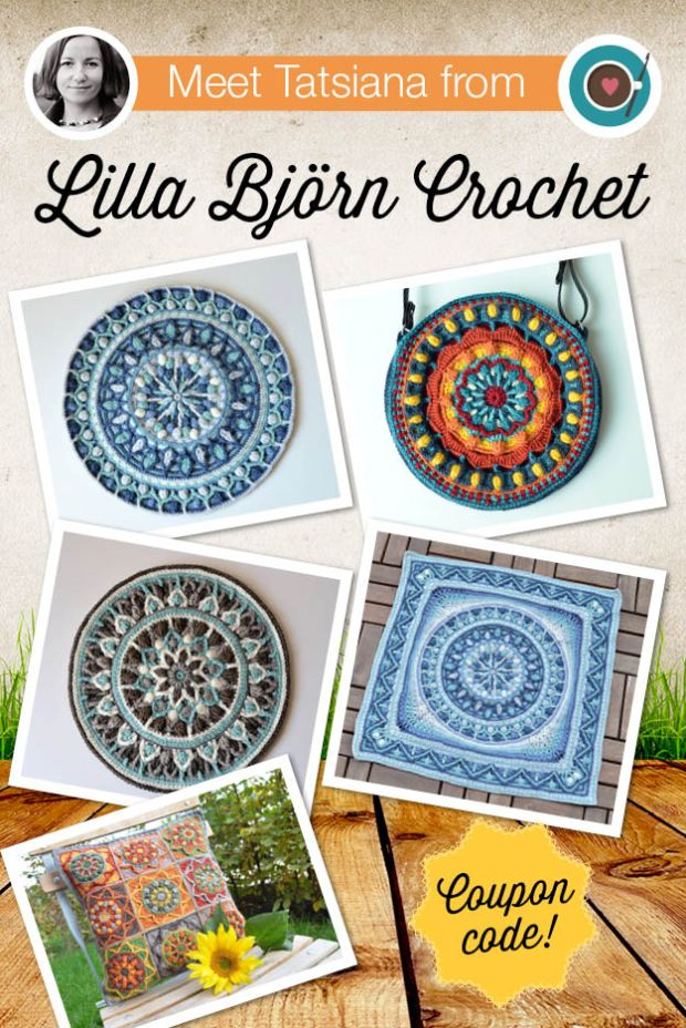 Meet Tatsiana from Lilla Bjorn Crochet (Blog)