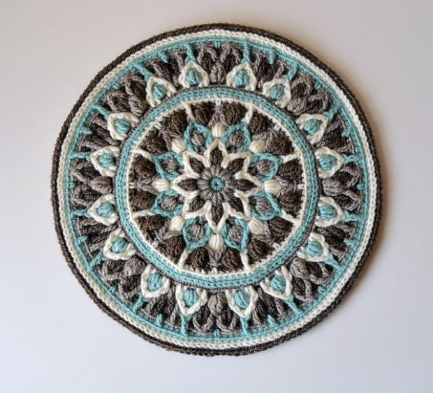 Mint Coffee Mandala by Lilla Bjorn Crochet