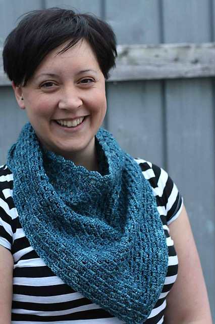 Tania Shawlette by ACCROchet