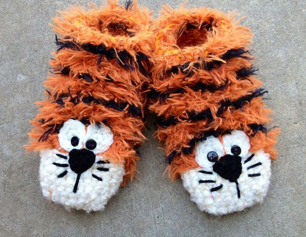 Tiger Feet by Snappy Tots
