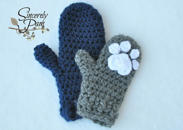 Un'bear'ably Cute Mittens by Sincerely Pam