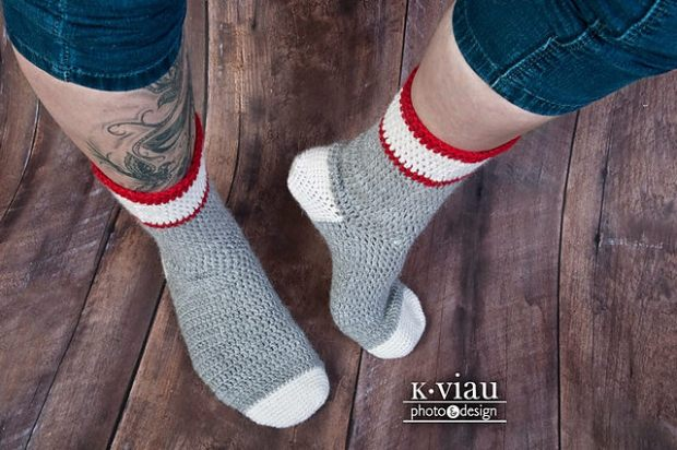 Workman's Sock by ACCROchet
