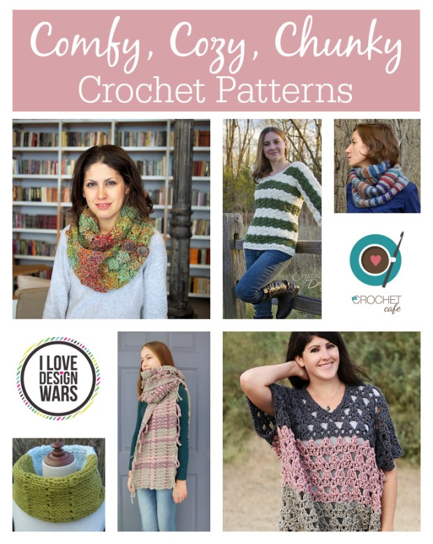 Comfy, Cozy, Chunky Crochet Patterns
