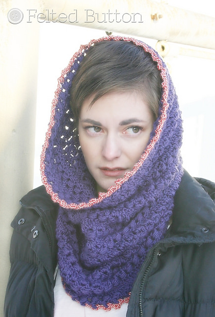 Cwtch Cowl & Hood by Felted Button